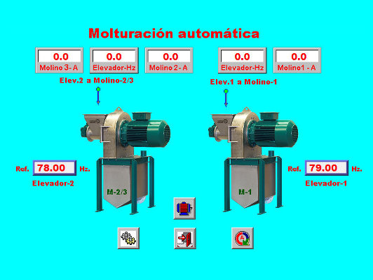 Automatic grinding interface